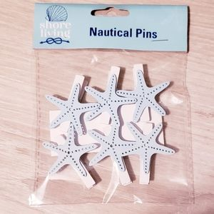 Natical pins - set of two